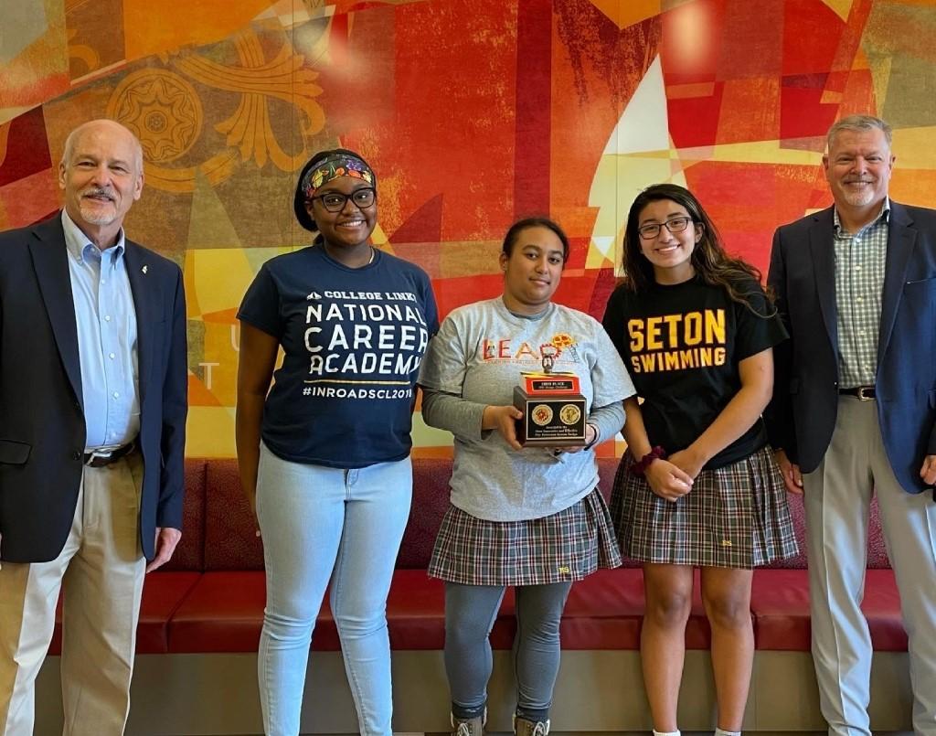 FPE Design Challenge 2021 Winning Team Seton High school