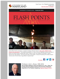 2014 Fall Flash Points eNewsletter