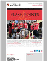 Flash Points Spring 2015 eNewsletter