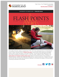 Flash Points Winter 2015 eNewsletter