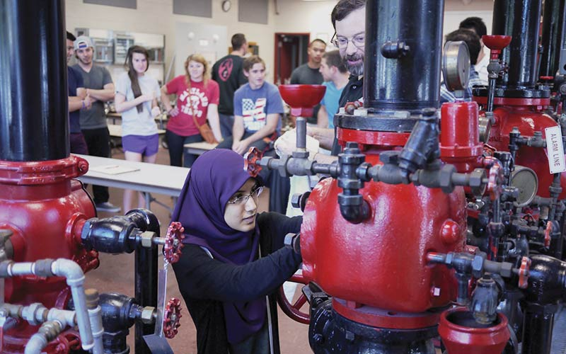 FPE student with S-pump