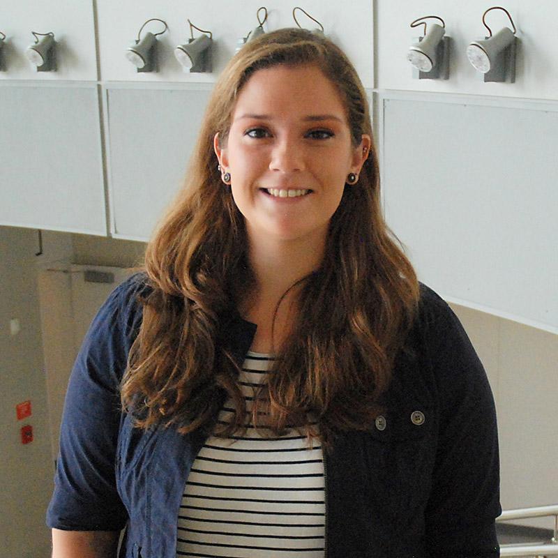 Jessica Doermann, a graduate student in FPE