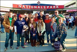 Salamander Society at National's Baseball Game