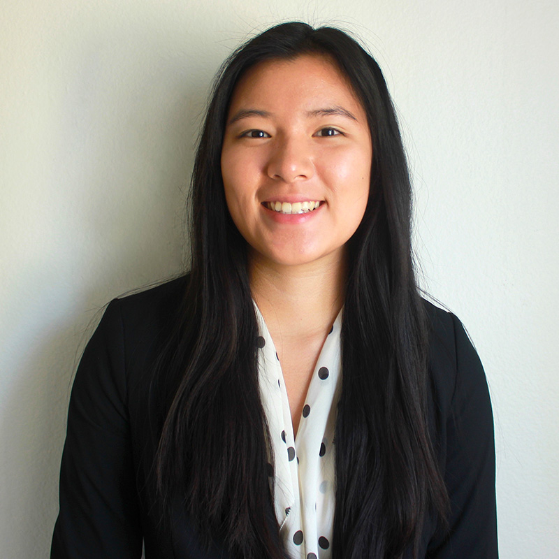 Selena Chin, a master's student in FPE